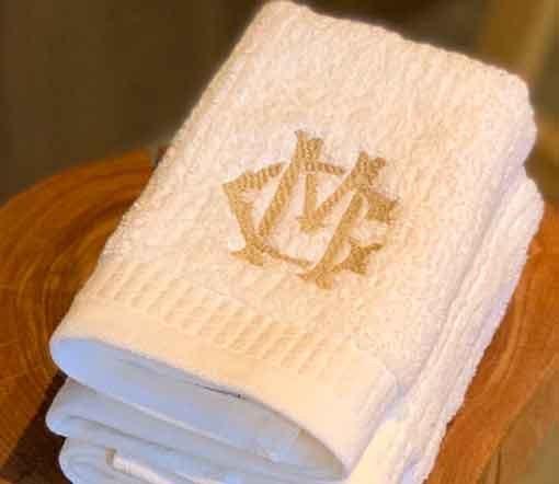 toalhas de lavabo