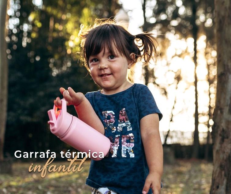 garrafa térmica infantil