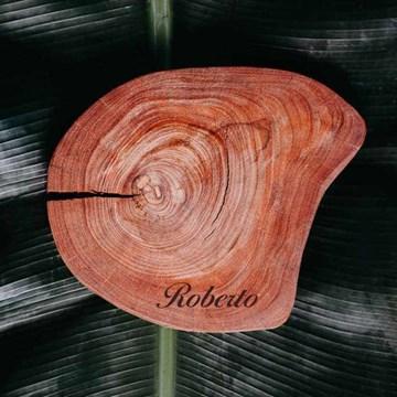 bolacha de madeira para frios personalizada