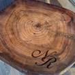 bolacha de madeira personalizada