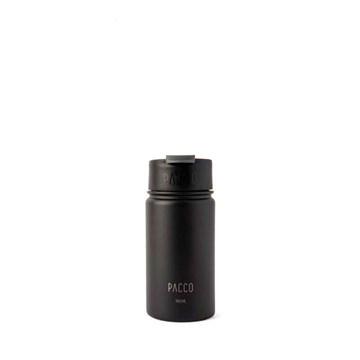 copo térmico tumbler Pacco 350ml preto
