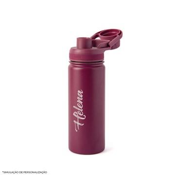garrafa térmica Pacco 500ml vinho