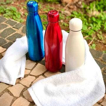 garrafa térmica personalizada azul 500ml - sibéria