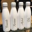 garrafa térmica personalizada branca 500ml - sibéria