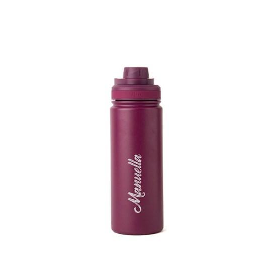 garrafa térmica personalizada vinho 500ml - Pacco