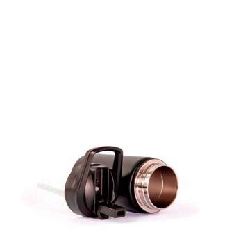 garrafinha térmica preta 350ml personalizada - Pacco