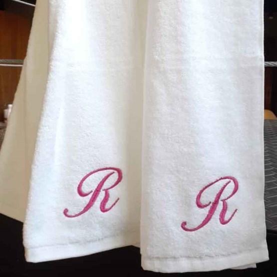 kit 2 toalhas fitness bordadas - buddemeyer