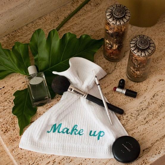 kit 3 toalhas de rosto make up Buddemeyer