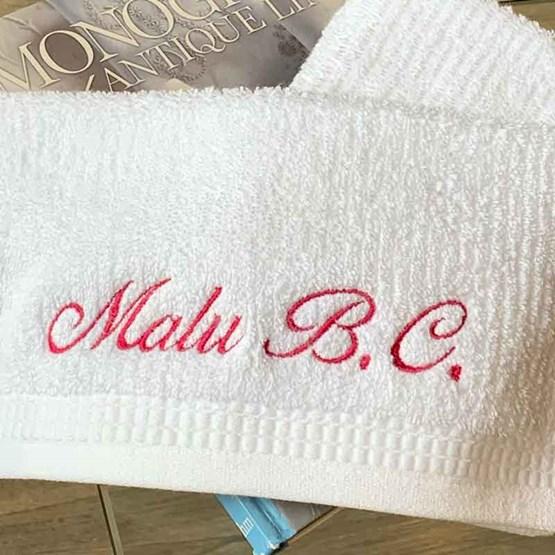 kit 3 toalhas escolares bordadas - buddemeyer