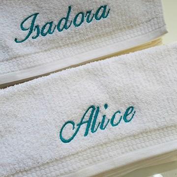 kit 3 toalhas escolares bordadas Buddemeyer