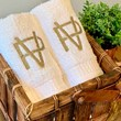 kit 3 toalhas lavabo bordadas - buddemeyer